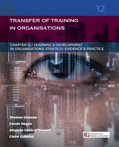 LDiO 12: Transfer of Training in Organisations