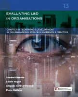 LDiO 13: Evaluating Learning & Development in Organisations